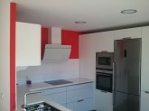 Pintar Paredes Cocina en Rojo