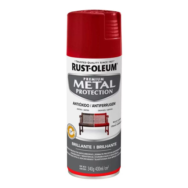 351539 1 MetalProtection RojoClavel Brillante