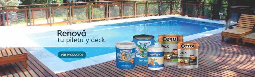 slider pileta deck