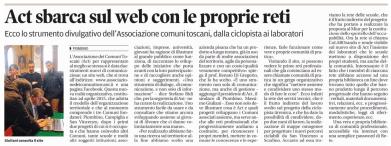 25 novembre: associazione comuni toscani sul web