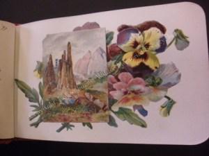 Grace's autograph book