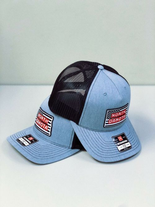 Two Caps, North Dakota Cap, American Trucker