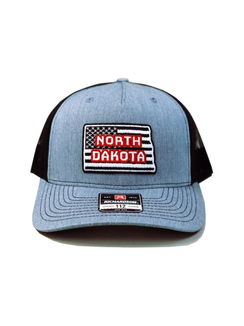 North Dakota Cap, American Trucker, State Pride