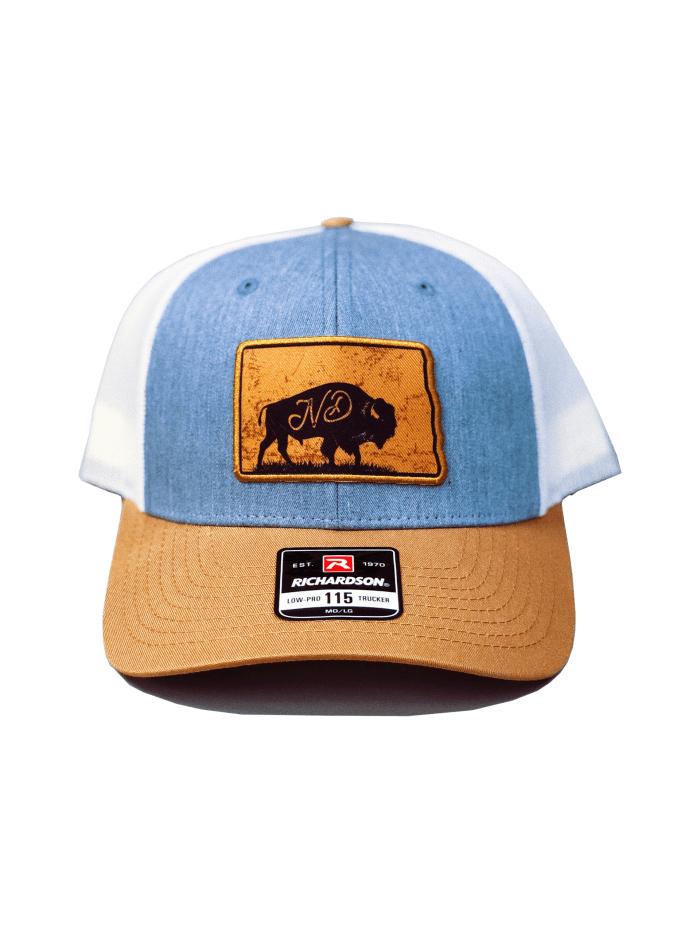 North Dakota Hat, Bison