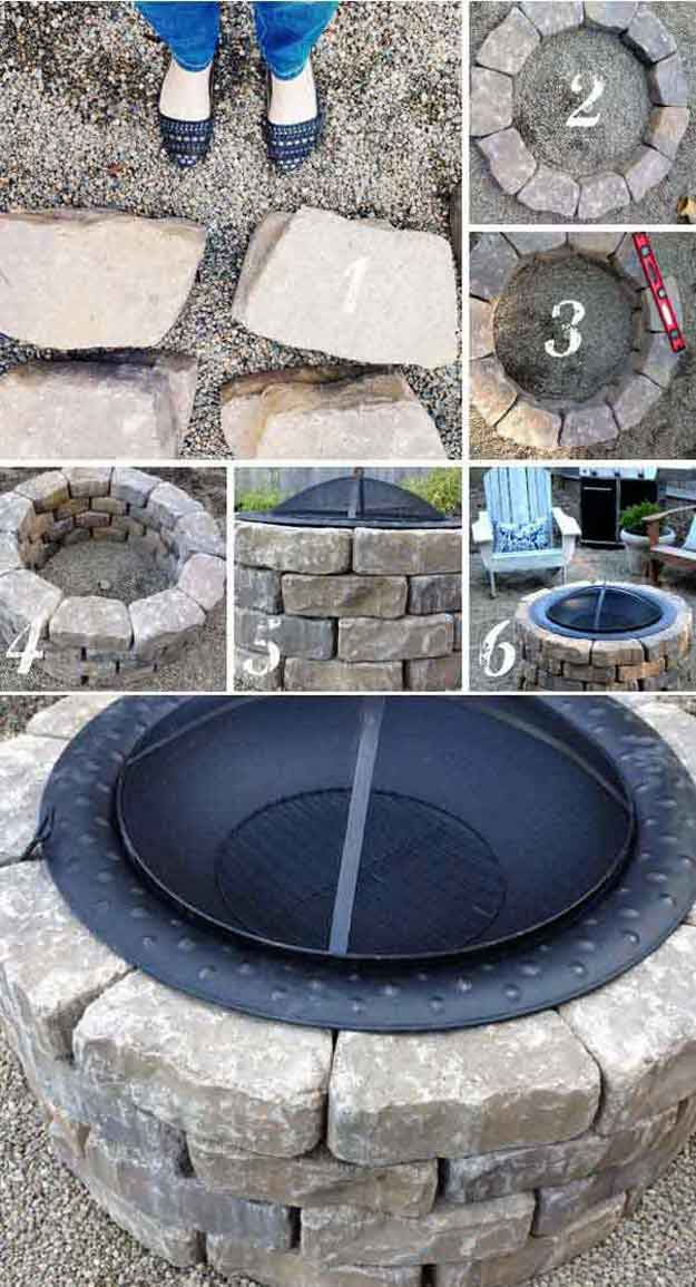 27 Hottest Fire Pit Ideas and Designs on Backyard Fire Pit Ideas Diy id=92111