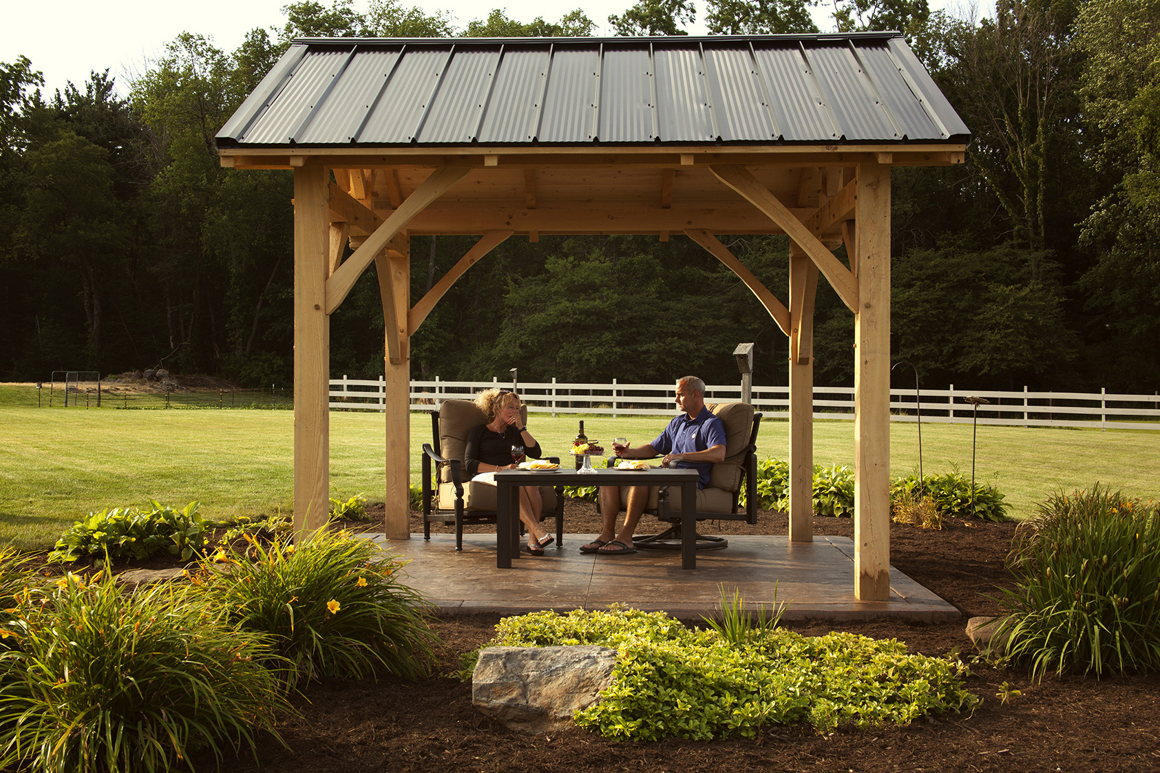 Timber Frame Pavilion Pioneer S Pride