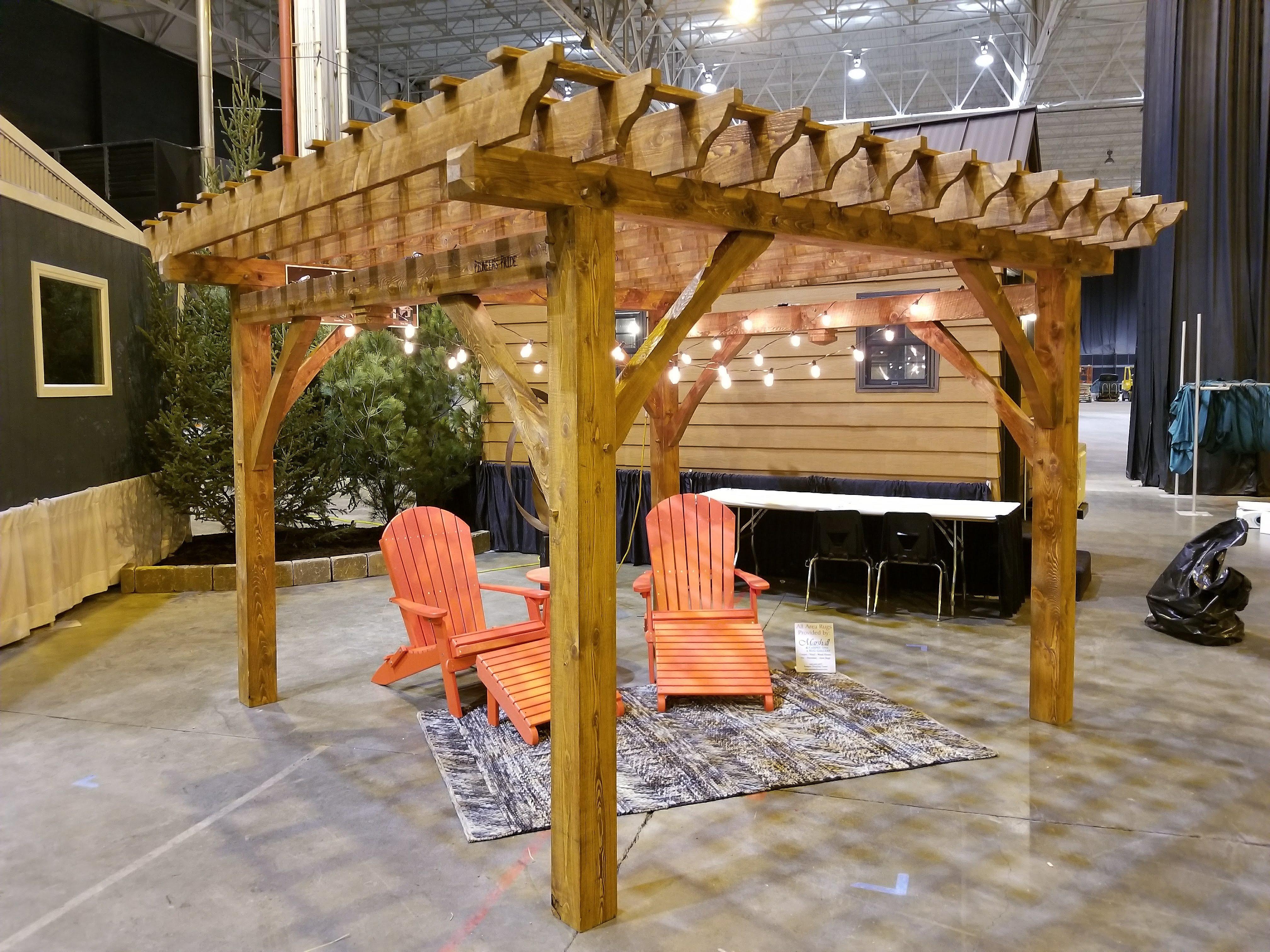 Timber Frame Pergola Pioneer S Pride