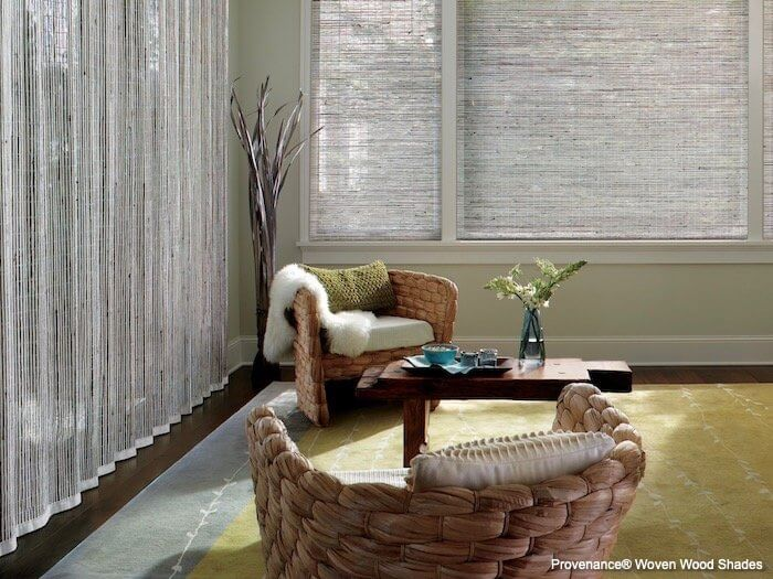 Provenance Woven Wood Shades Cambria - Vertical