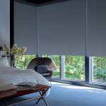 Designer Screen Shades PowerView Abyss Bedroom