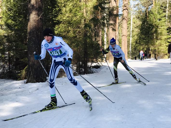 Лыжные гонки Пионерской правды 2019