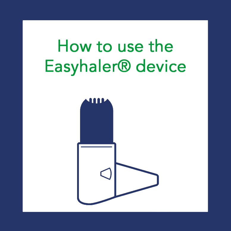 Module 4: How to use the Easyhaler® device