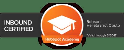 PIPAR Certificado Inbound Marketing by HubSpot