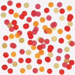confetti rojo