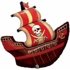 globo grande barco pirata madrid