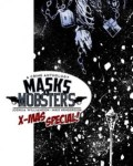 Masks and Mobsters #5 cover (MonkeyBrain Comics)