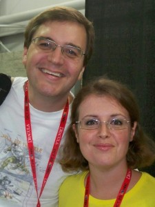 Jonathan Larsen and Cecilia Latella