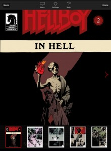 Madefire Hellboy in hell
