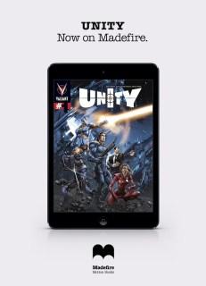 iPad Unity on Madefire