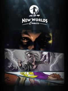 New Worlds Comics app