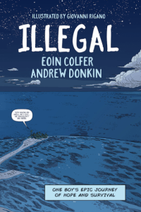 """When you see statistics about boats sinking it's hard to remember that every one of those numbers is a human being"" Andrew Donkin discusses the real world inspirations for his and Eoin Colfer's graphic novel Illegal"