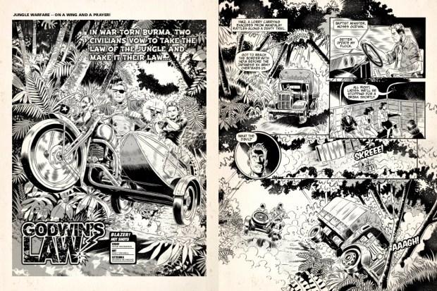 Review: Blazer #1 (The 77 Publications) - Pipedream Comics