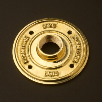 One inch Solid Brass 34mm Flange plate