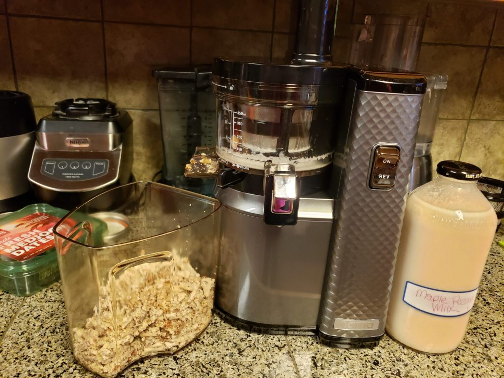 Almond Pecan Milk Recipe