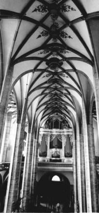 Freiberg organ, photo by Wolfgang Thieme