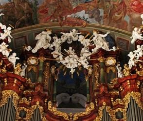 Krzeszow organ detail, photo by Fotonews