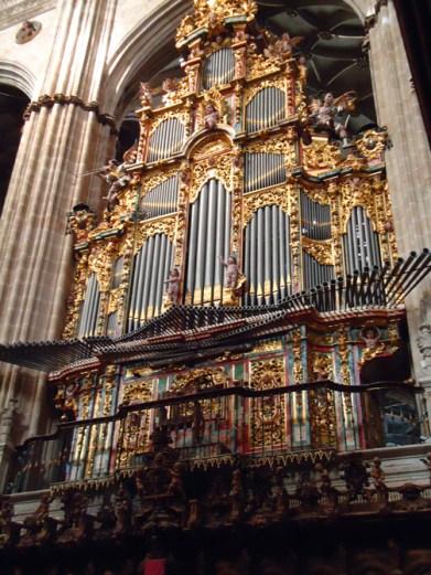 "Salamanca organ, photo by ""Payanes8"""