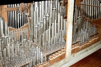 Norden organ interior, photo by Reinhard Ruge