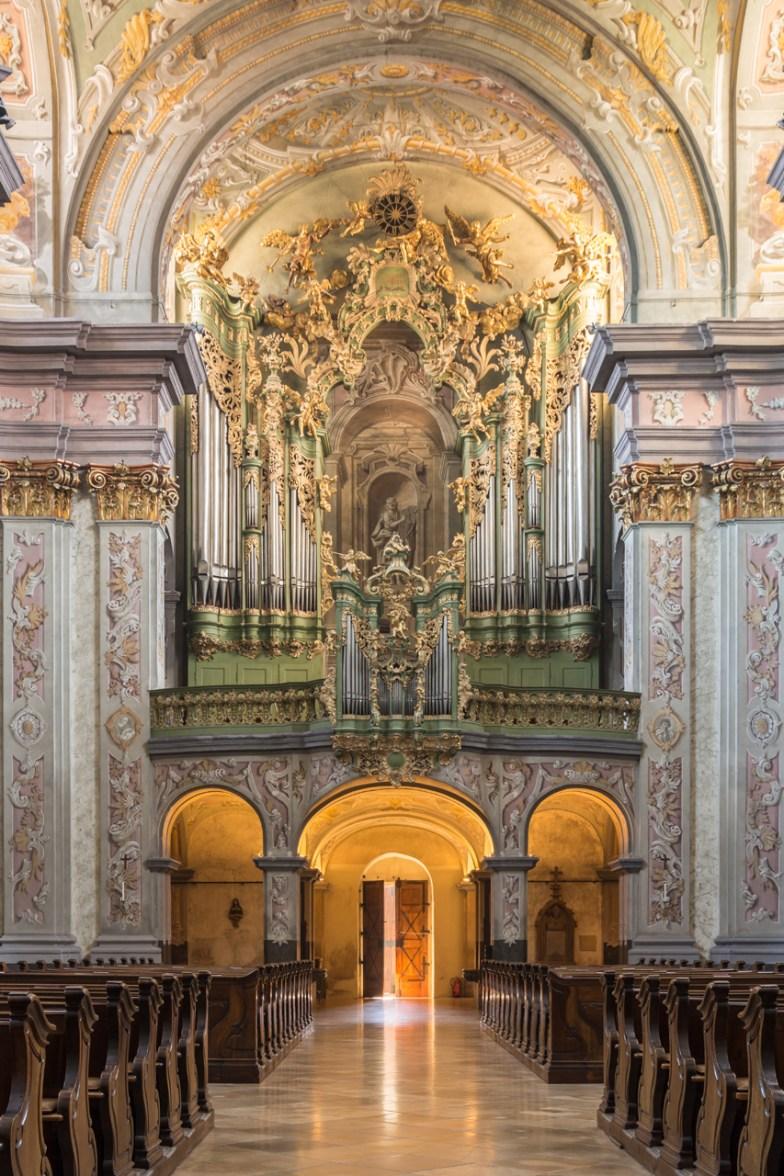 "Herzogenburg organ, photo by ""Uoaei"""