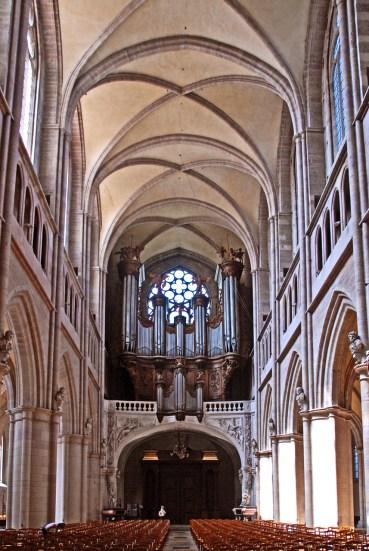 Dijon organ, photo by Jochen Jahnke