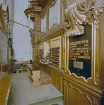 Bovenkerk organ, photo by Paul van Galen