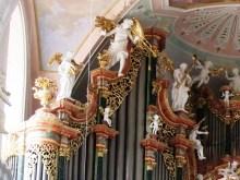 Ochsenhausen organ, photo by Thomas Mirtsch