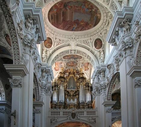 Passau organ, photo by Uli