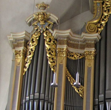 Peterkirche organ, photo by Concord