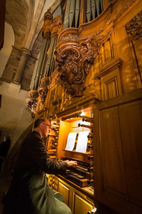 Strasbourg organ, photo by Claude Truong-Ngoc