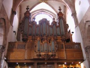 Strasbourg organ, photo by Duomaxw