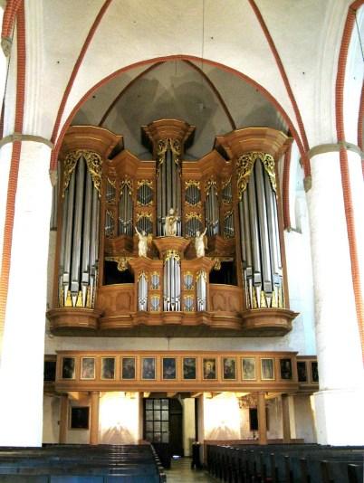 Jacobikirche organ, photo by Kliojünger