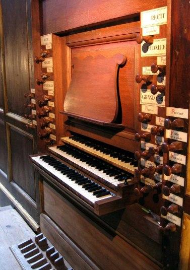 Cintegabelle organ, photo by BastienM