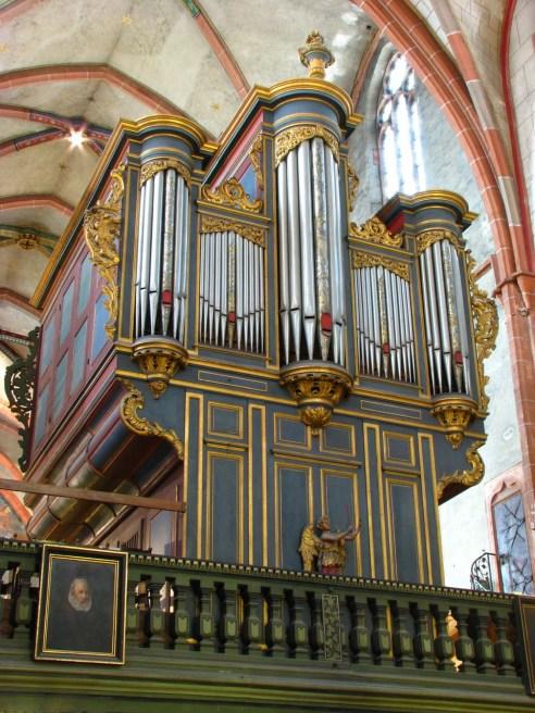 Strasbourg organ, photo by Pierre Marteau