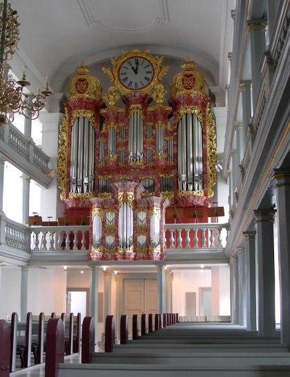 Garnisonskirche organ, photo by Ib Rasmussen