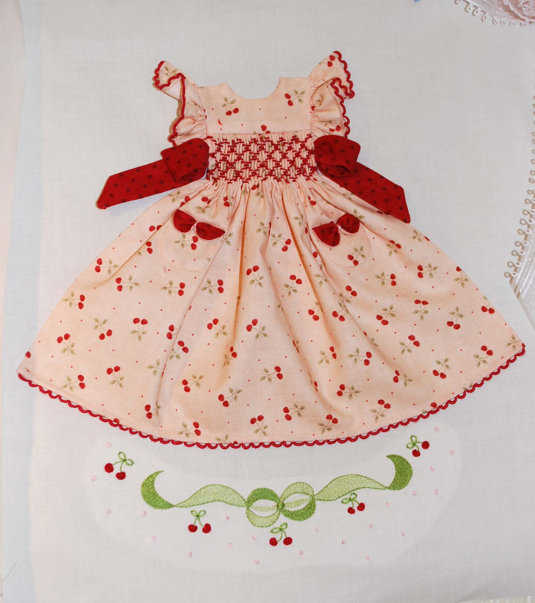 "Cherry ""strawberry"" Dress Block"