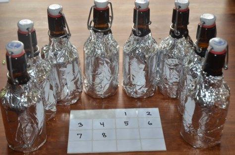 Flasker til blindsmagning af rom