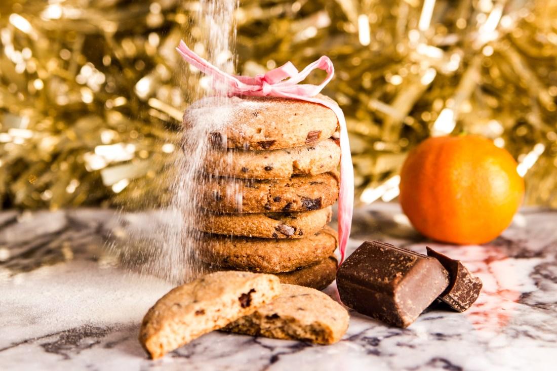 Schoko - Orangen - Kekse