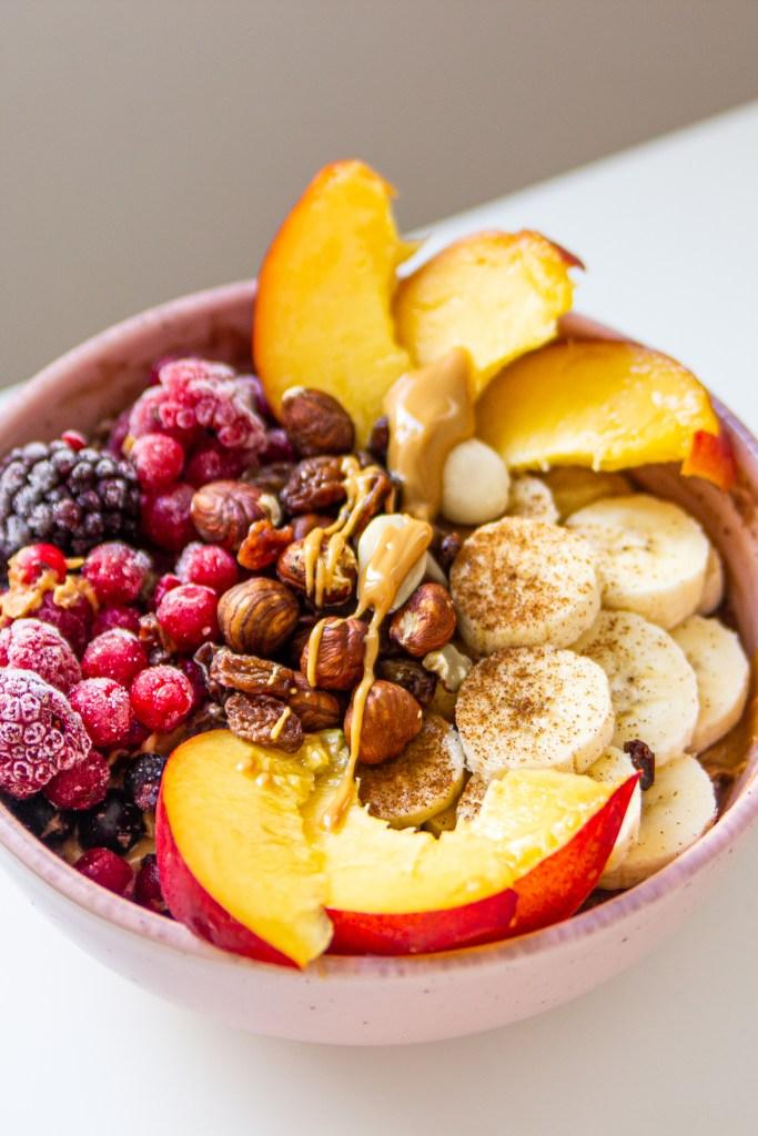 Fruit Bowl Oatmeal