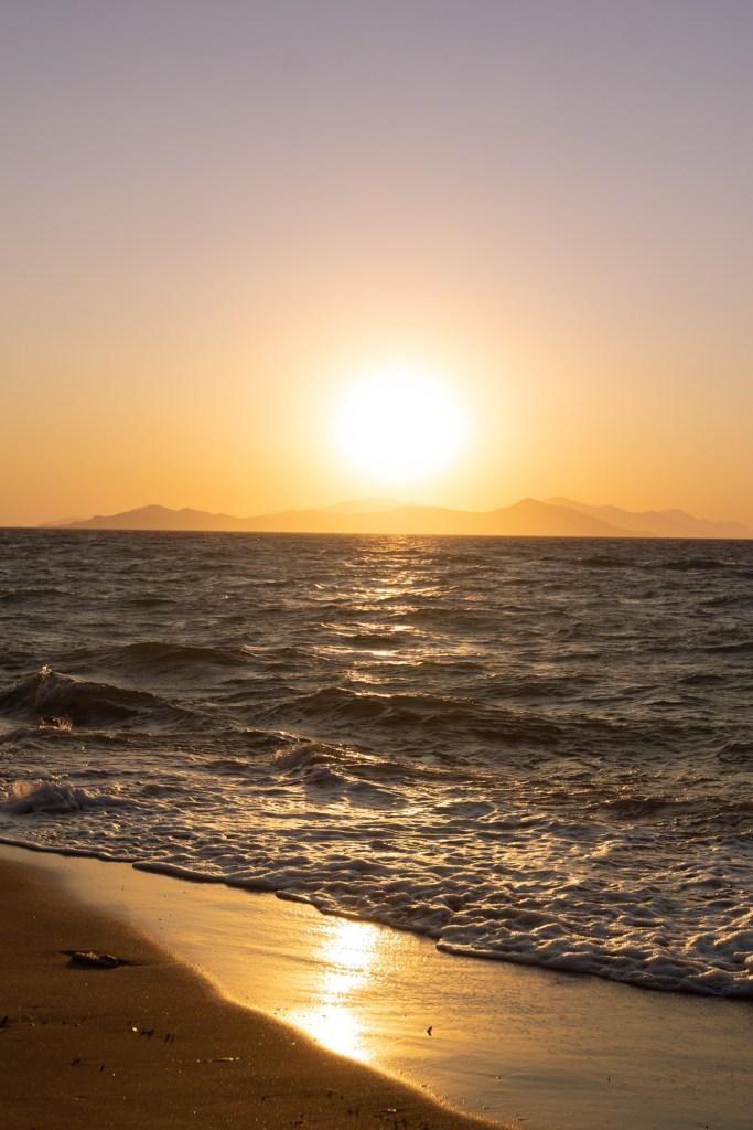Sonnenuntergang Dodekanese