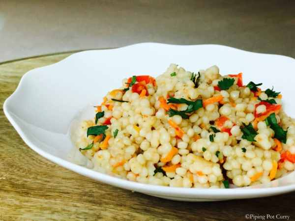 Couscous & Vegetable Medley - Instant Pot Pressure Cooker