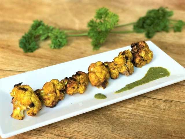 Air Fryer Tandoori Gobi Cauliflower Tikka